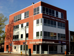 Institutional Construction Company, Cambria Design, Toronto, Carswell Family Health Centre Carswell Family Health Centre