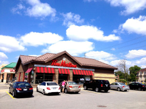 Tim Hortons Bathurst & Rutherford1