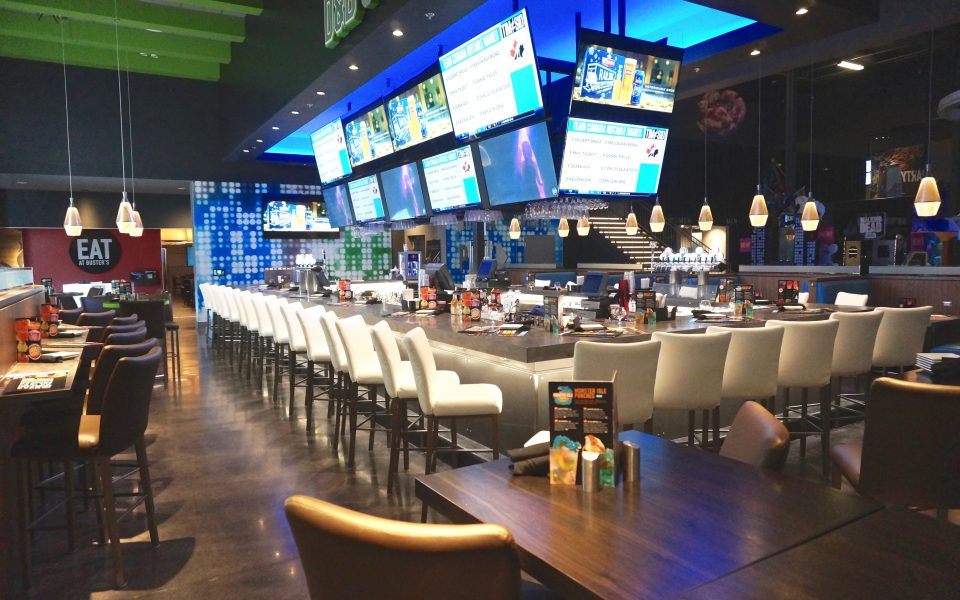Cambria Design & Build, Dave & Busters, Oakville, Ontario