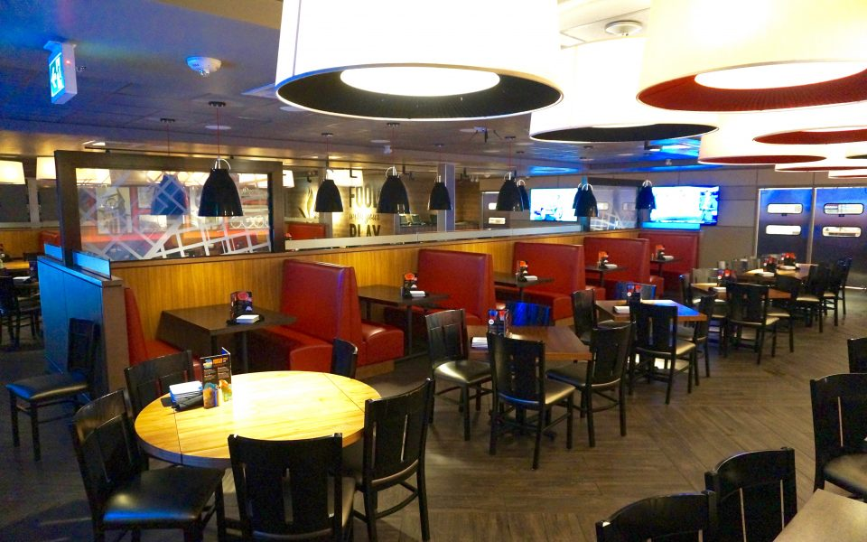 Cambria Design Build, Dave & Busters, Oakville, Ontario, Dining Room