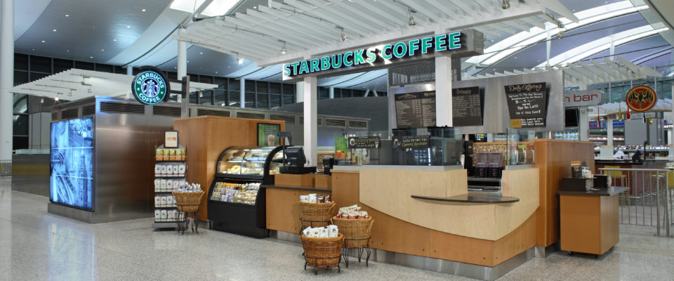 Cambria Design Build, Pearson International Airport, Starbucks
