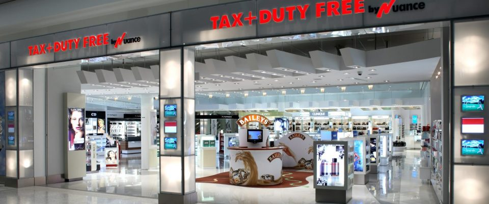 Cambria Design Build, Pearson International Airport, Duty Free Shop
