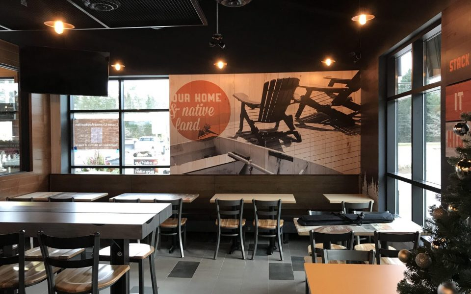 Cambria design build ltd quick service restaurants