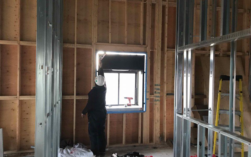 Quick Service Restaurant Commercial Construction, Cambria Design Build, Kitchner