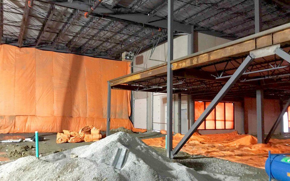 Industrial Construction, Cambria Design Build, Holten Impex
