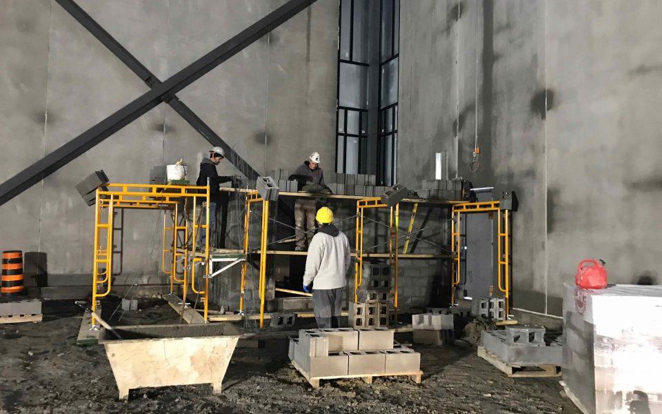 Industrial Construction, Cambria Design Build, Holten-Impex
