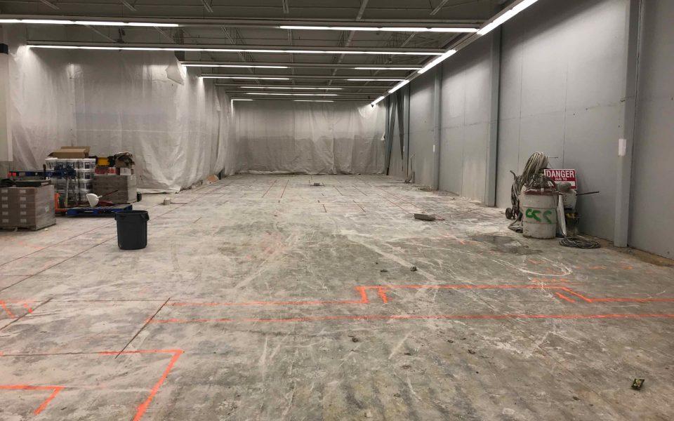 Walmart, Cambria Design Build, Commercial Construction, Ajax