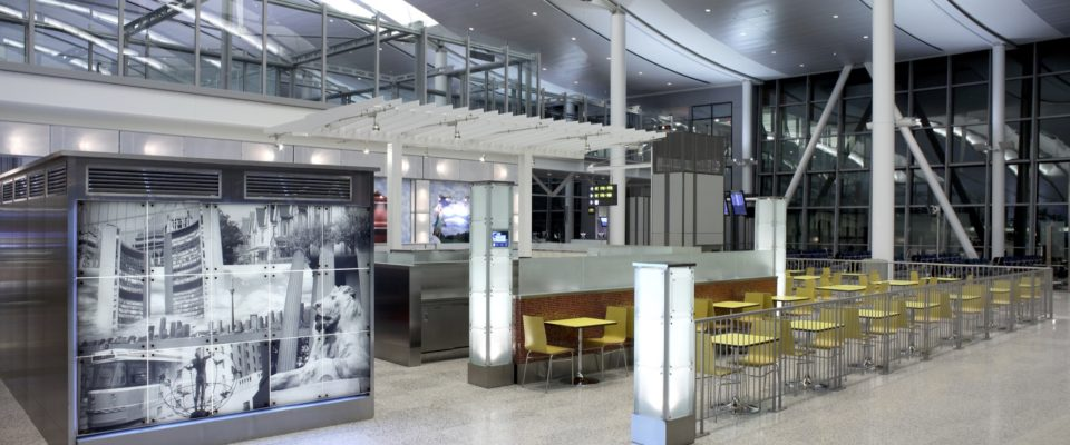 Cambria Design Build, Pearson International Airport, HMS Host
