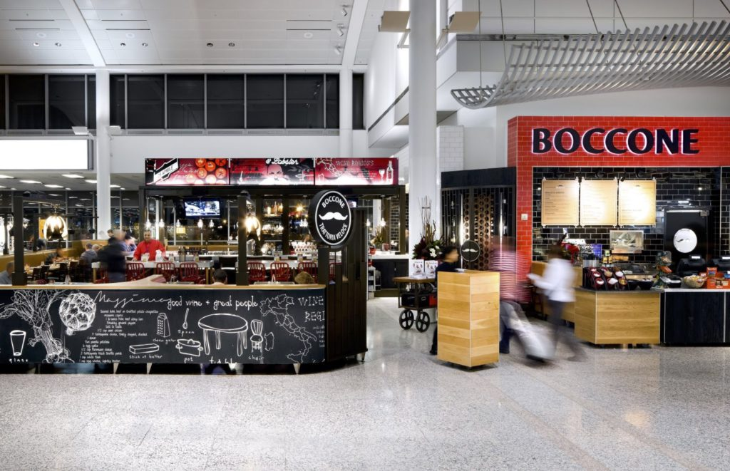 Cambria Design Build, Pearson Internation Airport, Boccone