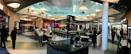 Cambria Design Build, Food Court, Pearson International Airport