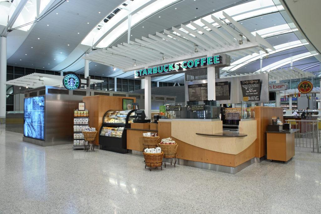 Cambria Design Build, Pearson International Airport, Starbucks