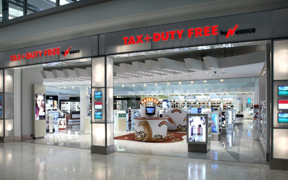 Cambria Design Build, Pearson International Airport, Duty Free Shop