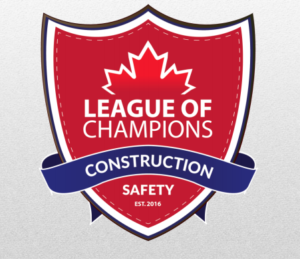 Cambria Design Build Safety Award May 2017, League of Champions