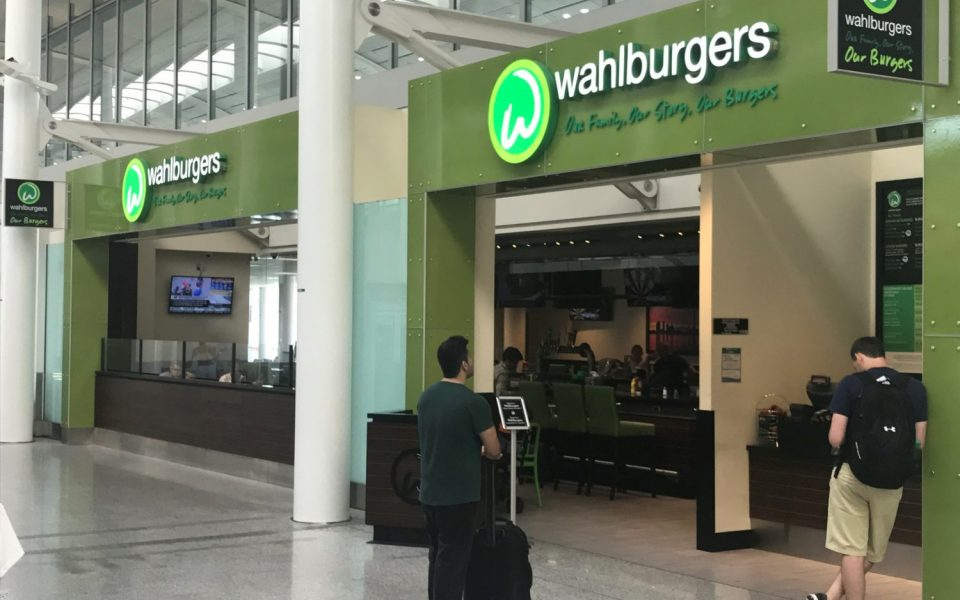 Cambria Design Build, Pearson International Airport, Wahlburgers