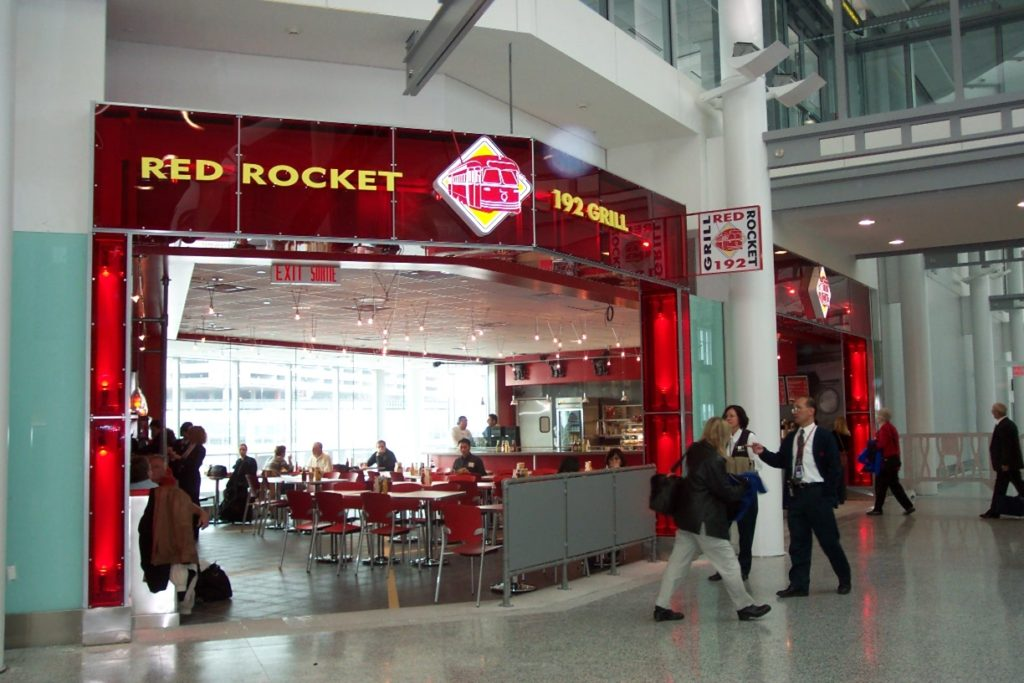 Cambria Design Build, Pearson International Airport, Red Rocket