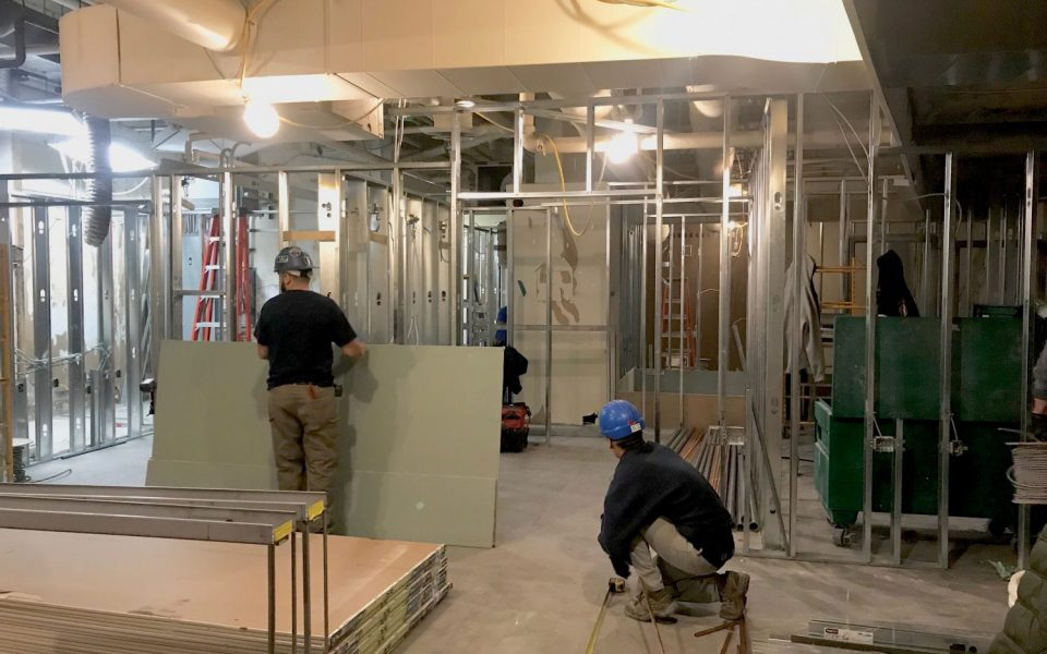 restaurant construction builder, Cambria Design Build, Starbuck Royal Bank Plaza