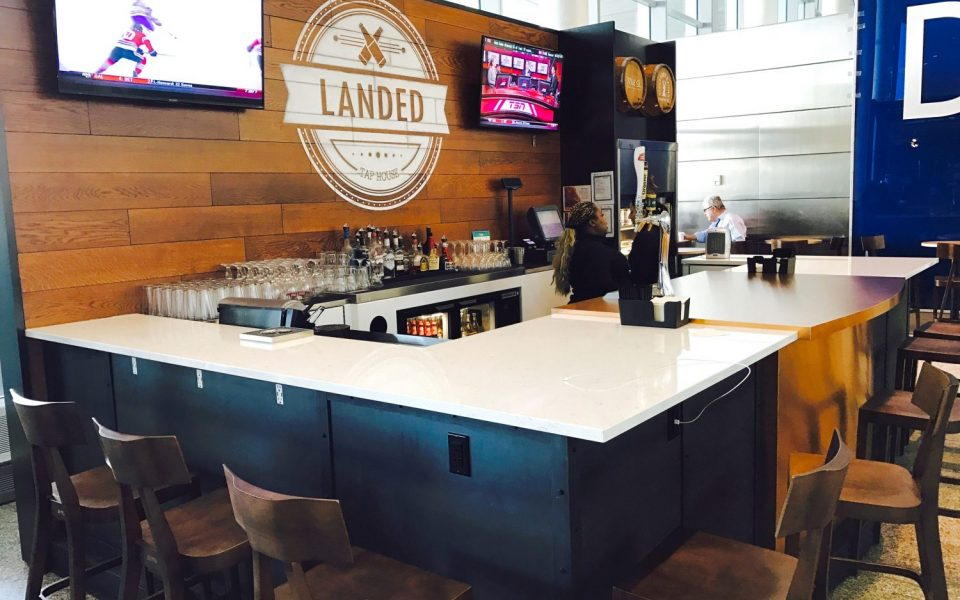 Restaurant Commercial Construction, Pearson International Airport, Tap House