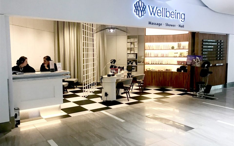 Retail Construction, Cambria Design Build, Pearson International Airport, Wellbeing Spa