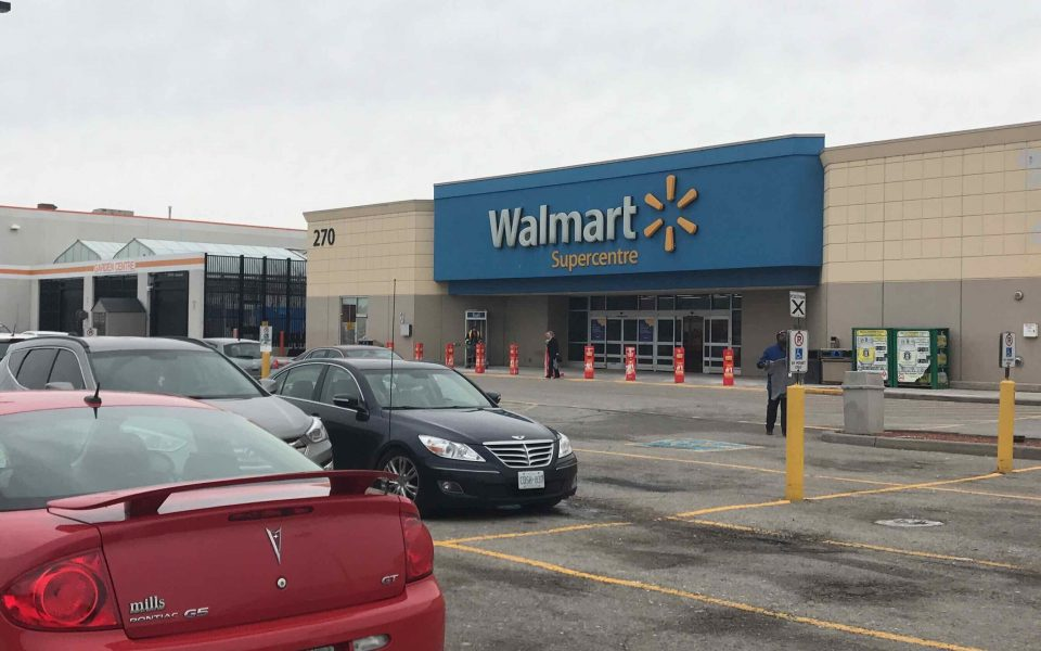 Walmart, Cambria Design Build, Commercial Construction, Ajax