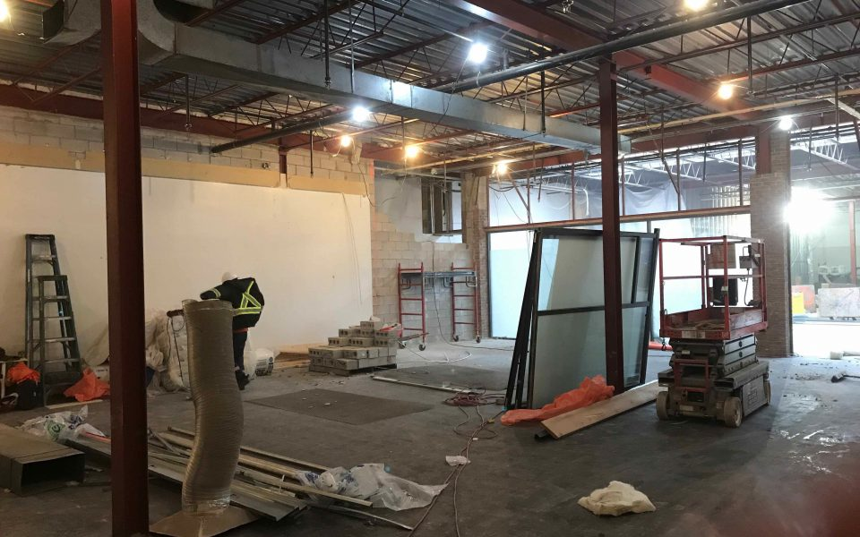 Commercial Construction, Cambria Design Build, Tottenham Mall