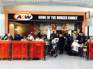 A&W, Pearson International Airport, Cambria Design Build
