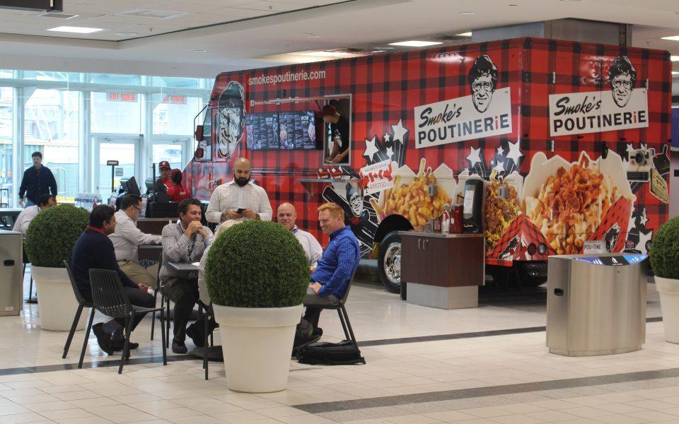 Smokes, Quick Service Restaurant, Pearson International Airport, Cambria Design Build